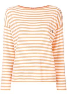 Emilio Pucci embroidered logo jumper - Yellow & Orange