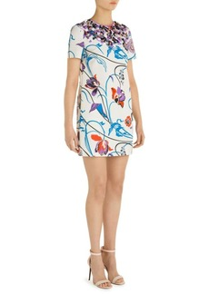 Emilio Pucci Floral-Print Cotton Dress