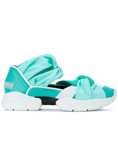 Emilio Pucci gradient twisted sneakers - Blue