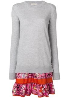 Emilio Pucci layered knit dress - Grey