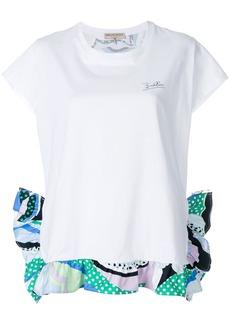 Emilio Pucci layered T-shirt - White