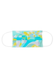 Emilio Pucci Lilly-print stretch-jersey face covering
