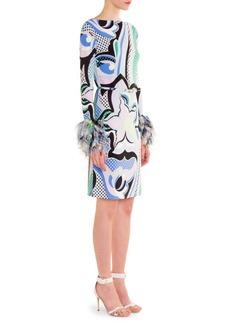 Marilyn Chiffon Sleeve Dress