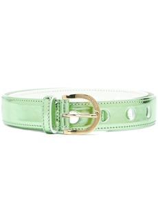 Emilio Pucci metallic belt - Green