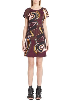 Emilio Pucci Monogram Print Jacquard Dress