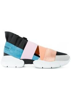 Emilio Pucci multi-strap sneakers - Multicolour