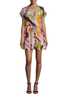 Emilio Pucci Parioli-Print Coverup Dress