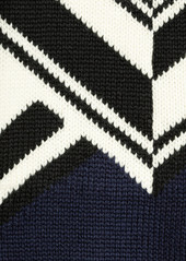 Emilio Pucci Patterned wool sweater