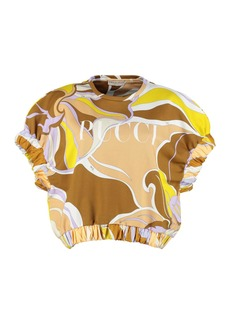 Emilio Pucci Printed Fleece Top
