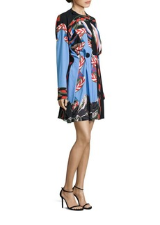 Emilio Pucci Printed Pleated Dress