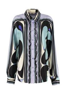 Emilio Pucci Printed Twill Shirt