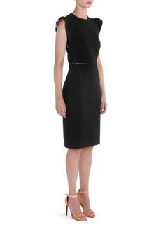 Emilio Pucci Ruffle-Sleeve Dress