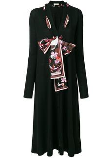 Emilio Pucci scarf-detailed cardigan - Black