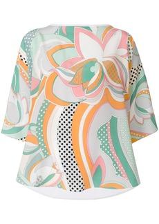 Emilio Pucci signature print blouse - Multicolour