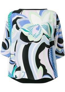 Emilio Pucci signature printed blouse - Multicolour
