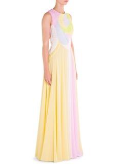 Emilio Pucci Silk Chiffon Gown