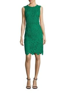 Emilio Pucci Sleeveless Macrame Dress
