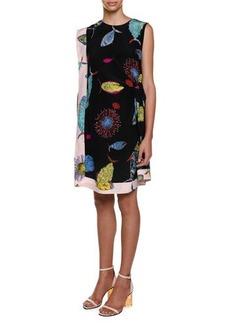 Emilio Pucci Sleeveless Printed Shift Dress