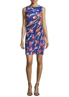 Emilio Pucci Sleeveless Round-Neck Skimmer Dress