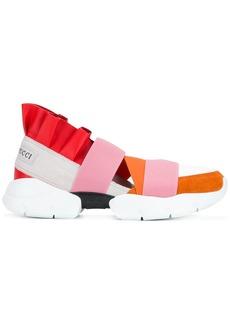Emilio Pucci strapped sneakers - White