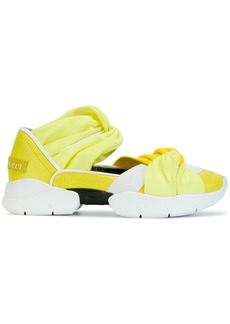 Emilio Pucci twisted gradient sneakers - Yellow & Orange