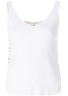 Emilio Pucci V-neck tank top - White