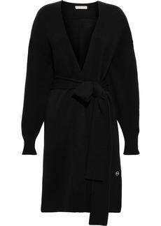 Emilio Pucci Woman Belted Cashmere Cardigan Black