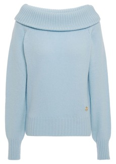 Emilio Pucci Woman Cashmere Sweater Light Blue