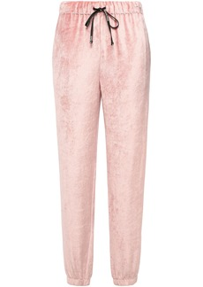 Emilio Pucci Woman Chenille Track Pants Blush
