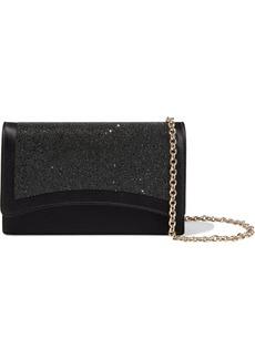 Emilio Pucci Woman Colibri Embellished Satin Shoulder Bag Black