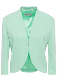Emilio Pucci Woman Crepe Jacket Mint