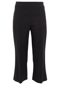 Emilio Pucci Woman Cropped Wool-blend Twill Bootcut Pants Black