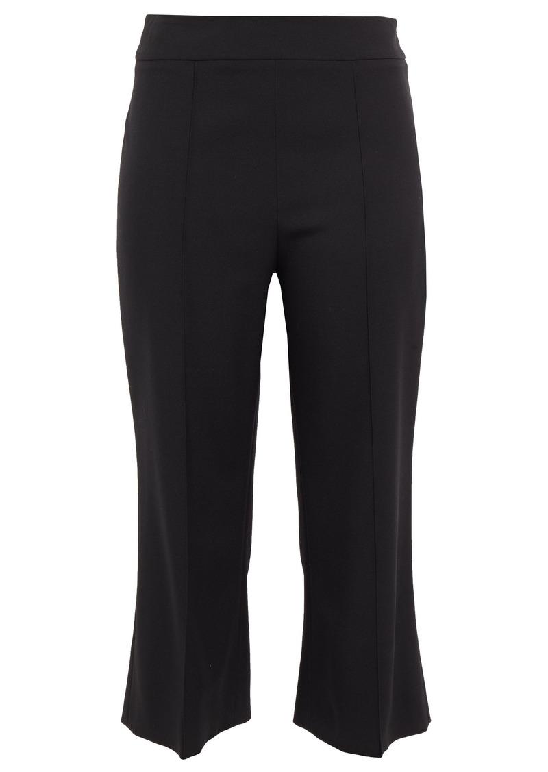 Emilio Pucci Woman Cropped Wool-blend Twill Bootcut Pants Black