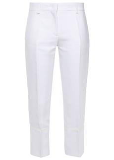 Emilio Pucci Woman Cropped Woven Slim-leg Pants White