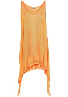 Emilio Pucci Woman Draped Knitted Top Orange