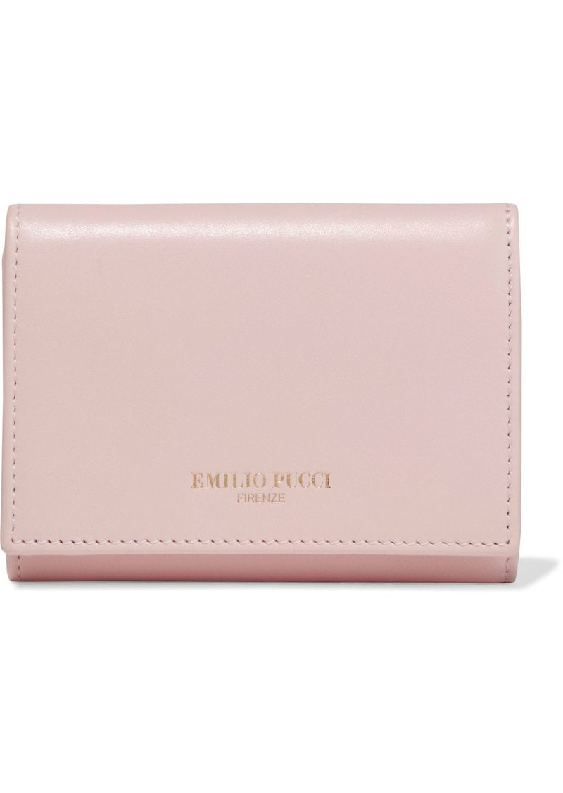 Emilio Pucci Woman Leather Wallet Pastel Pink