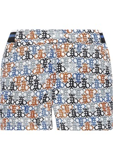 Emilio Pucci Woman Printed Shell Shorts Multicolor