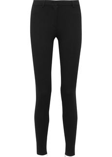 Emilio Pucci Woman Stretch-cady Skinny Pants Black