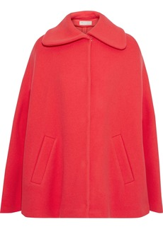 Emilio Pucci Woman Wool And Cashmere-blend Felt Cape Tomato Red
