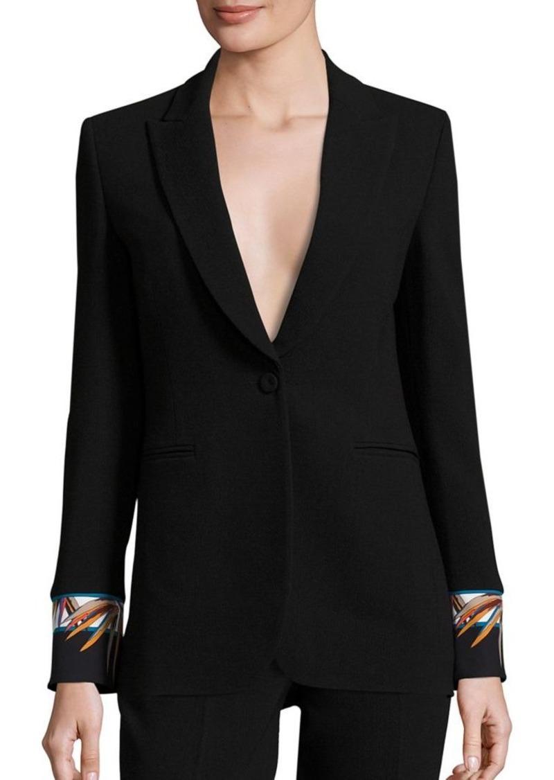 Emilio Pucci Wool-Blend Bamboo Jacket