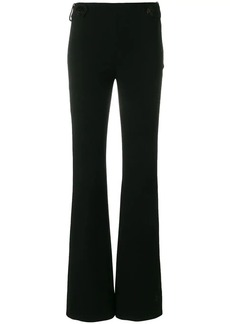 Emilio Pucci flared button-embellished trousers