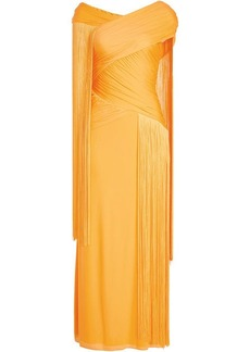 Emilio Pucci Floor Length Gown with Fringes