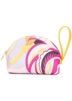Emilio Pucci floral print beauty case