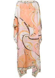 Emilio Pucci floral print kaftan dress