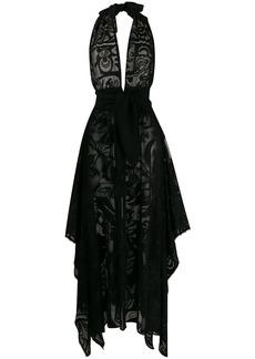 Emilio Pucci floral sheer beach dress