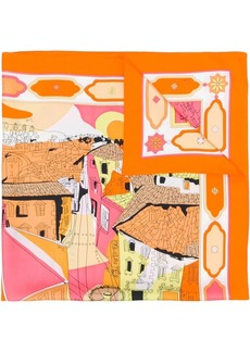 Emilio Pucci Florence-print scarf