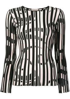 Emilio Pucci Fortuna Intarsia Striped Jumper