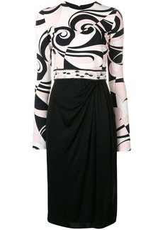 Emilio Pucci Fortuna Print Dress
