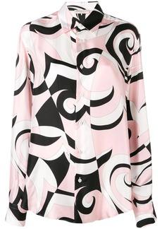 Emilio Pucci Fortuna Print Silk Shirt