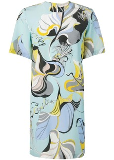 Emilio Pucci Frida Print Silk Dress